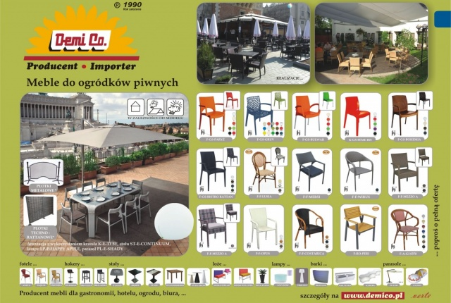 BEER GARDENS FURNITURE